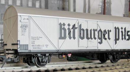 Kühlwagen Bitburger Epoche 4