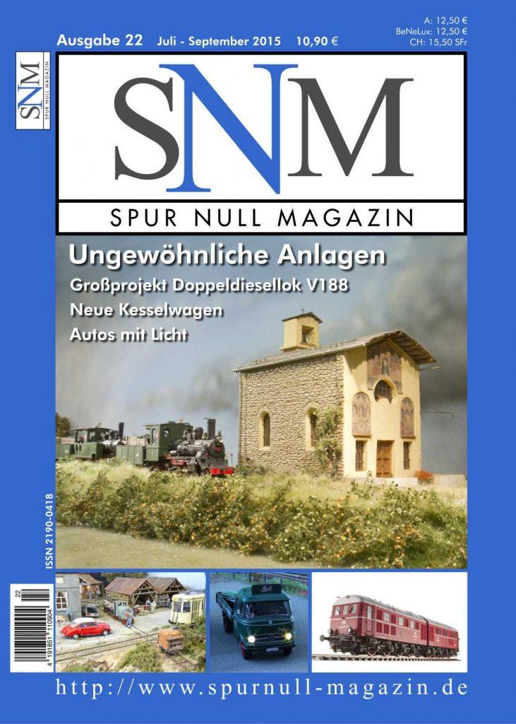 Titelbild SNM Heft 22