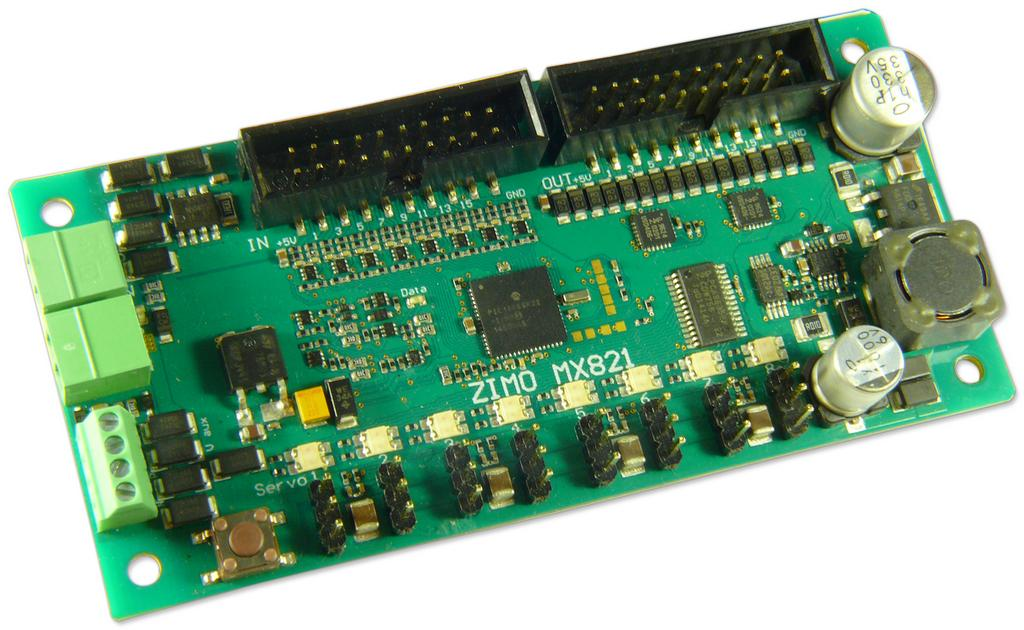 Zimo DCC Decoder MX821