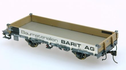 Bemo Niederbordwagen mit Bedruckung