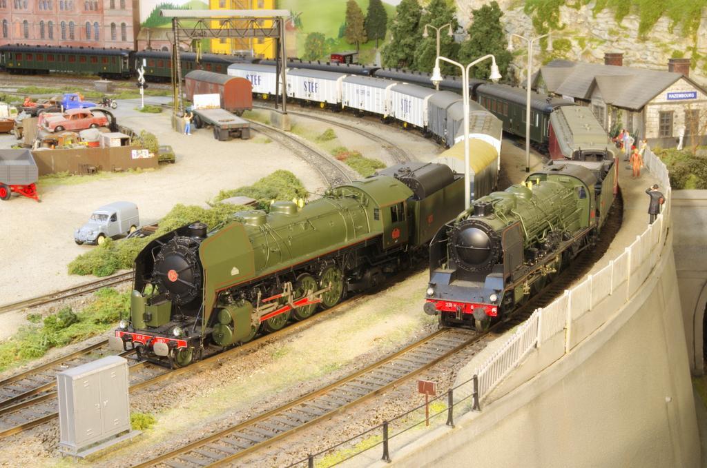 Neujahrsausstellung MECN: Züge zwischen Atlantik, Elsass und Côte d'Azur