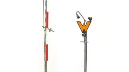 Weinert Schmalmast-Formsignal und Wartesignal