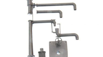 Modularer Wasserkran mit mehreren Ausleger-Längen