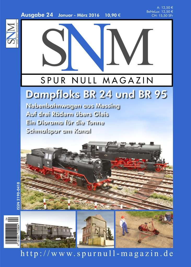 Spur Null Magazin Heft 24