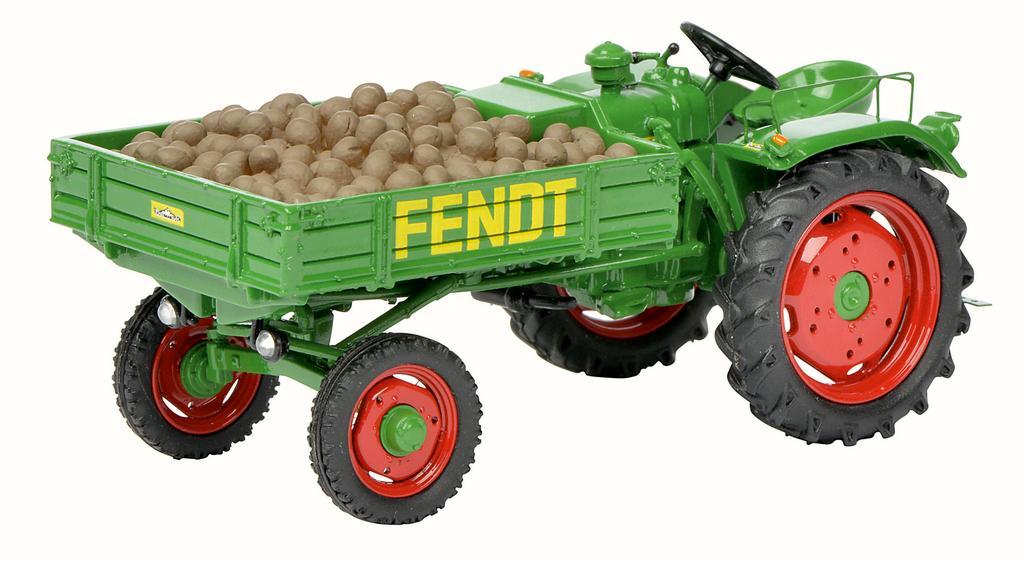 Fendt Geräteträger GT mit Kartoffeln / Art.-Nr. 450262800