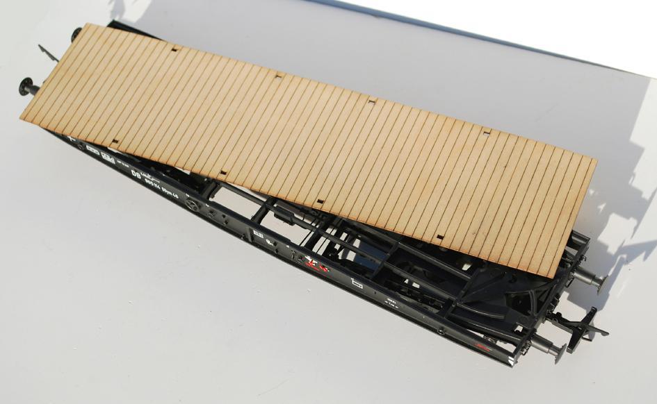 Ladeböden für den Kiss Schwerlastwagen Ssym46
