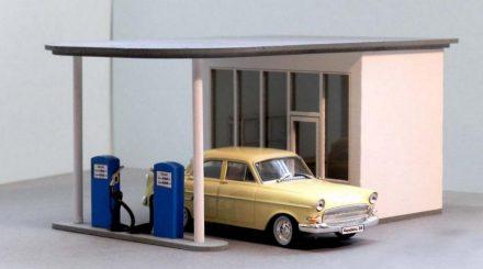 Zapf Tankstelle. Foto: Zapf