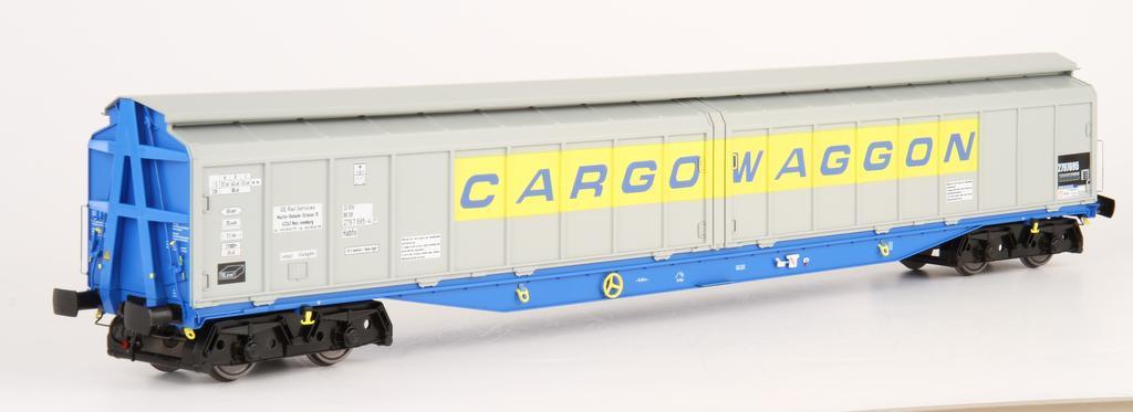 Heljan Habfis Cargowaggon
