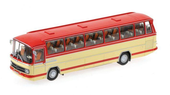 MB O302 Bus rot-creme 1965