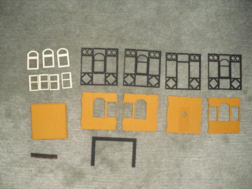 Grundplatten und Rahmen