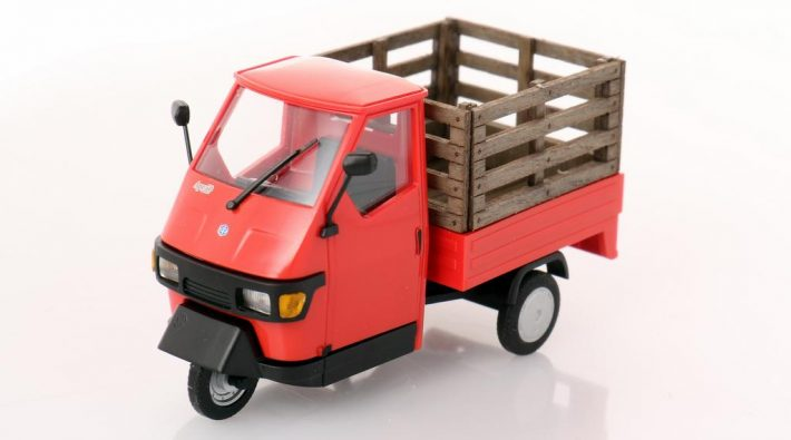 Busch Piaggio Ape mit Gitterbox