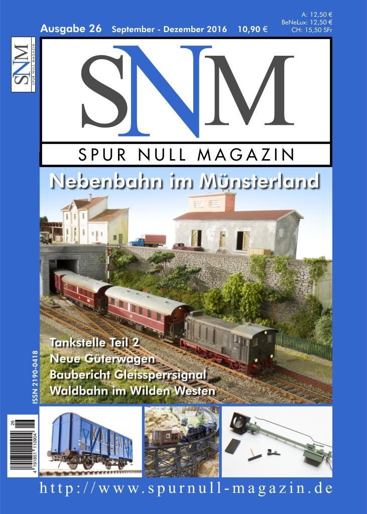 Spur Null Magazin Heft 26