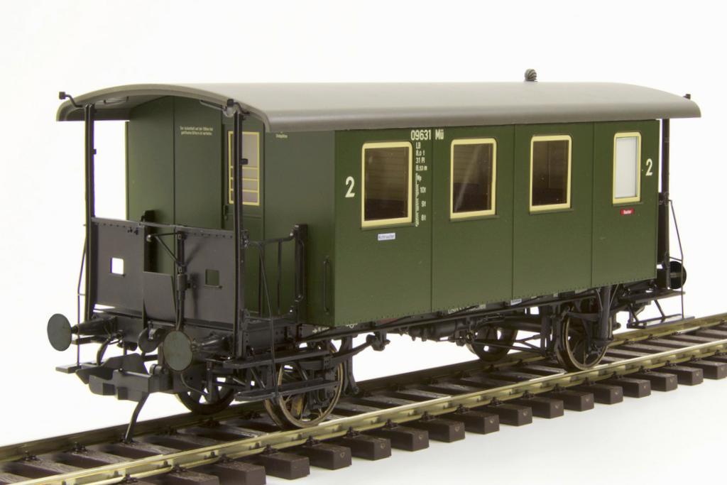 Lokalbahnwagen Bauart Bay CL. Werksfoto