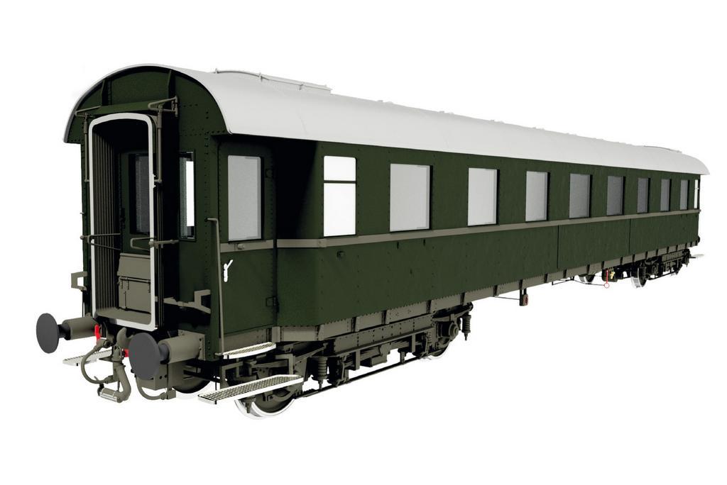 Schnellzugwagen 1. Klasse A4üe-28 der DB, Epoche 3