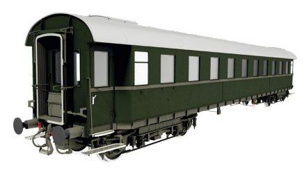 Schnellzugwagen 2. Klasse B4üe-28 der DB, Epoche 3