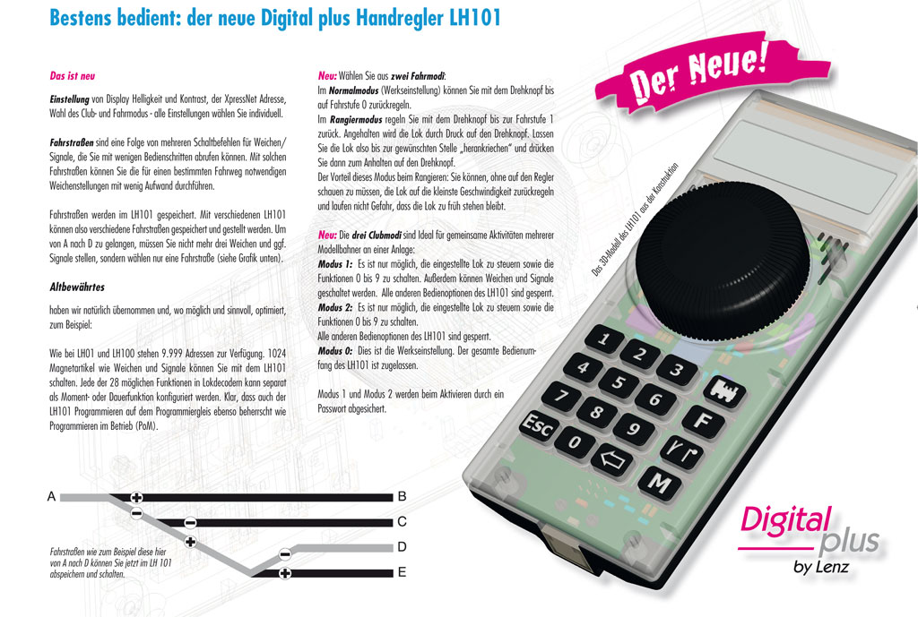 Digital plus Handregler LH101