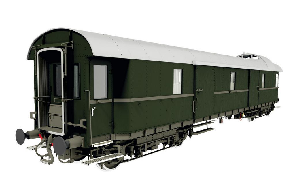 Schnellzuggepäckwagen Pw4üe-28 der DB, Epoche 3