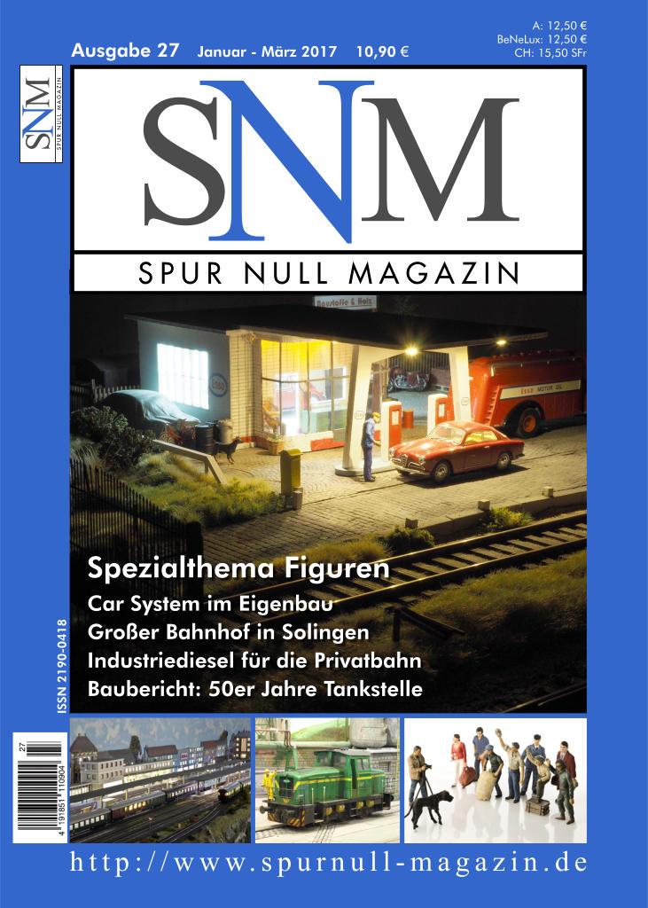 Spur Null Magazin Heft 27