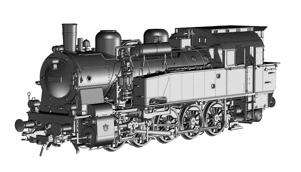 BR 94 Konstruktionszeichnung
