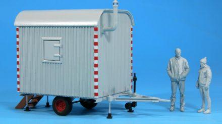 KS Modellbahn Bauwagen und Figuren