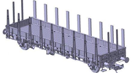 Schnellenkamp Rmms 33 mit Holzwänden