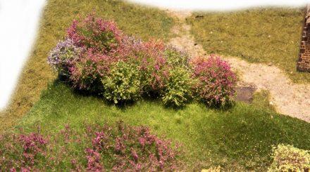 Mehrere Schichten Begrasung und Beflockung mit Magispray