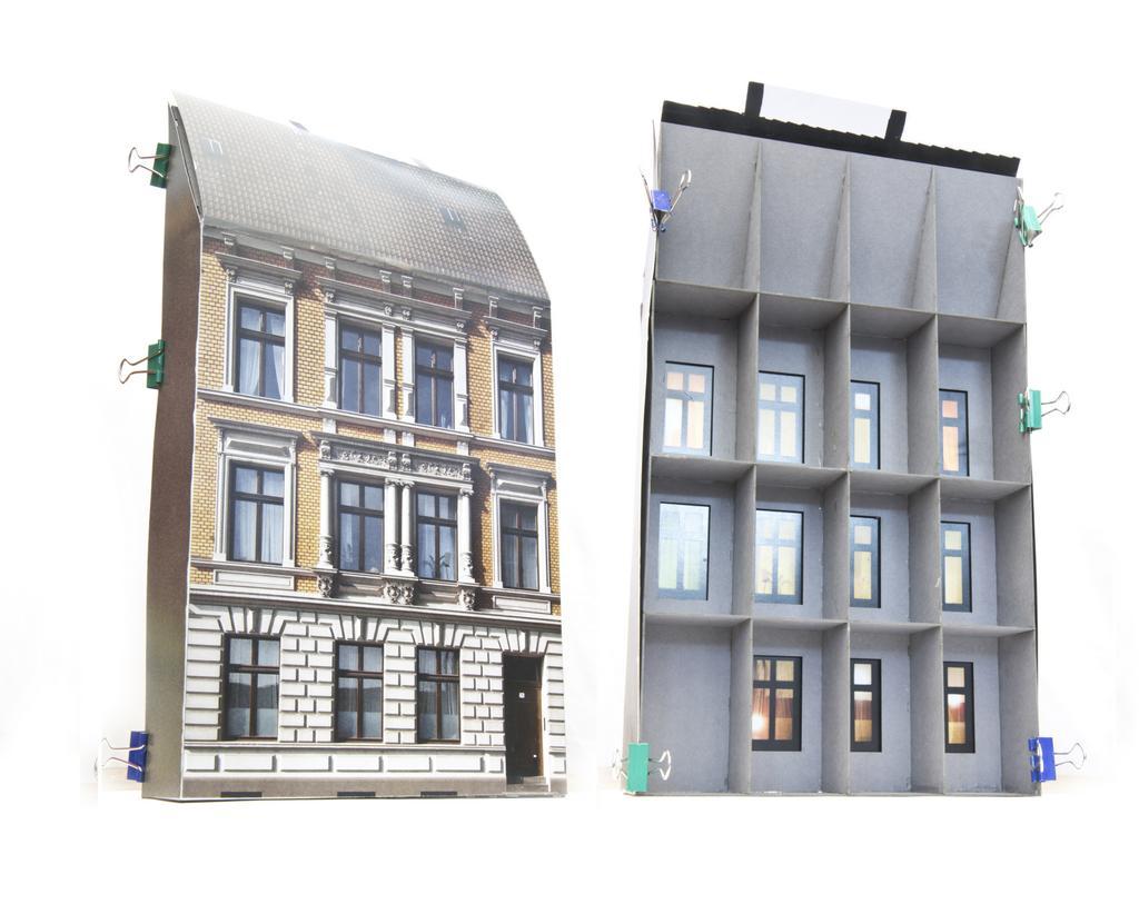 Moebo Innengebäude für Hintergrundhäuser