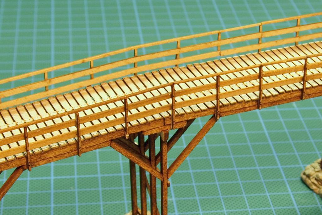 Geländer und Stütze im detail