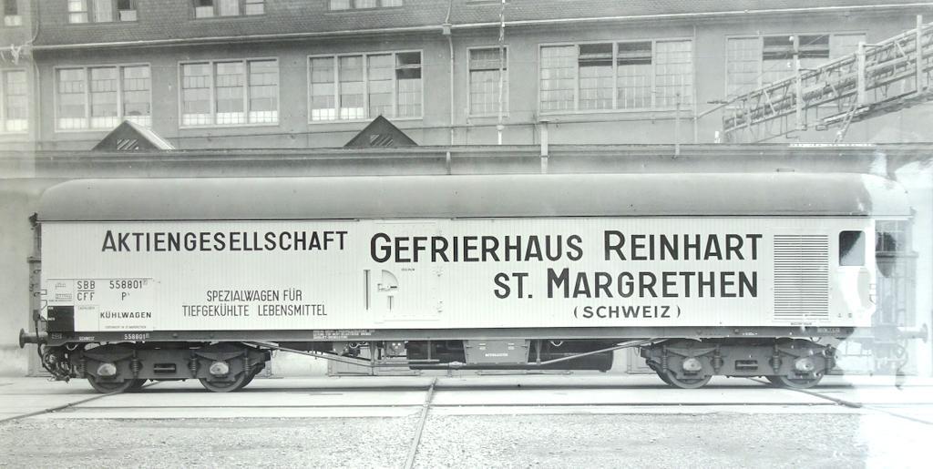 Großraum Kühlwagen Reinhart