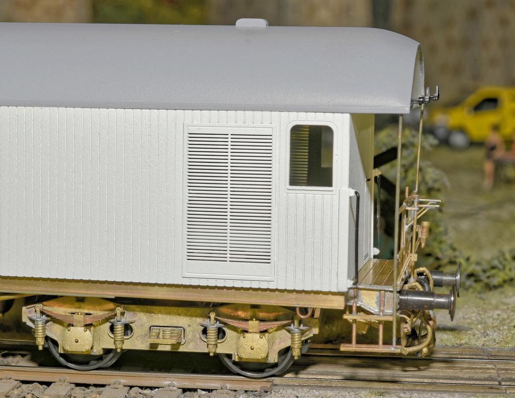 Prototyp des Großraum Kühlwagens