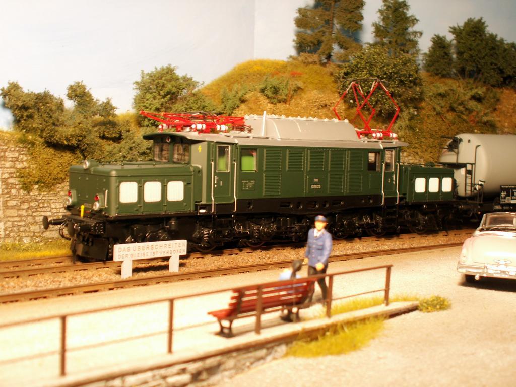 Neumotorisierte ÖBB 1020 im schweren Güterzugeinsatz