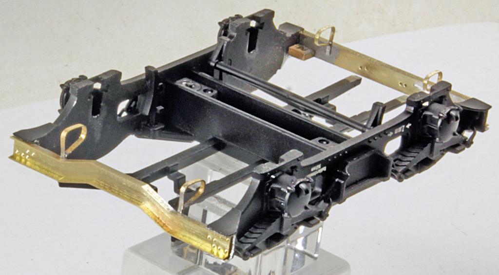 Petau SS15 Drehgestell Traversen