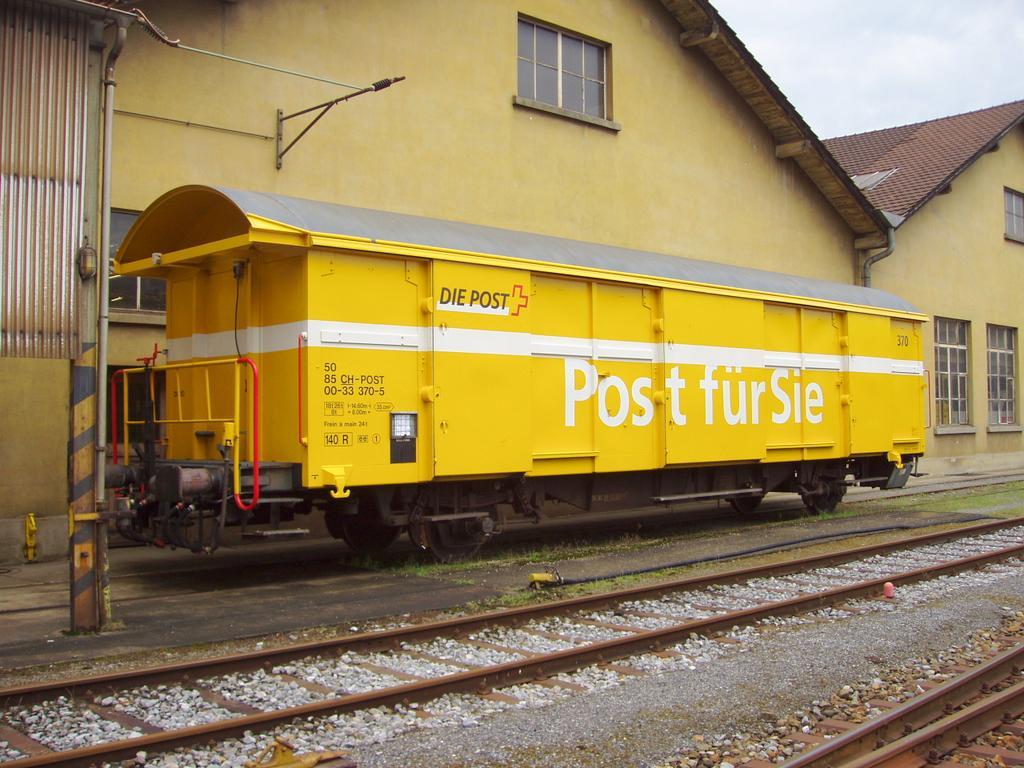Z2 - Wagen der Schweizerischen Post