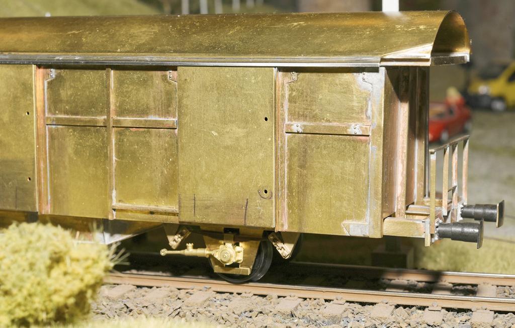 Prototyp des Postwagens