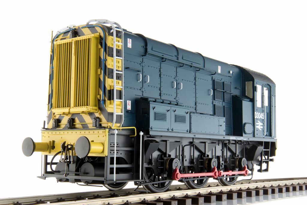 Rangierlok Class 08 der British Rail, Epoche 4