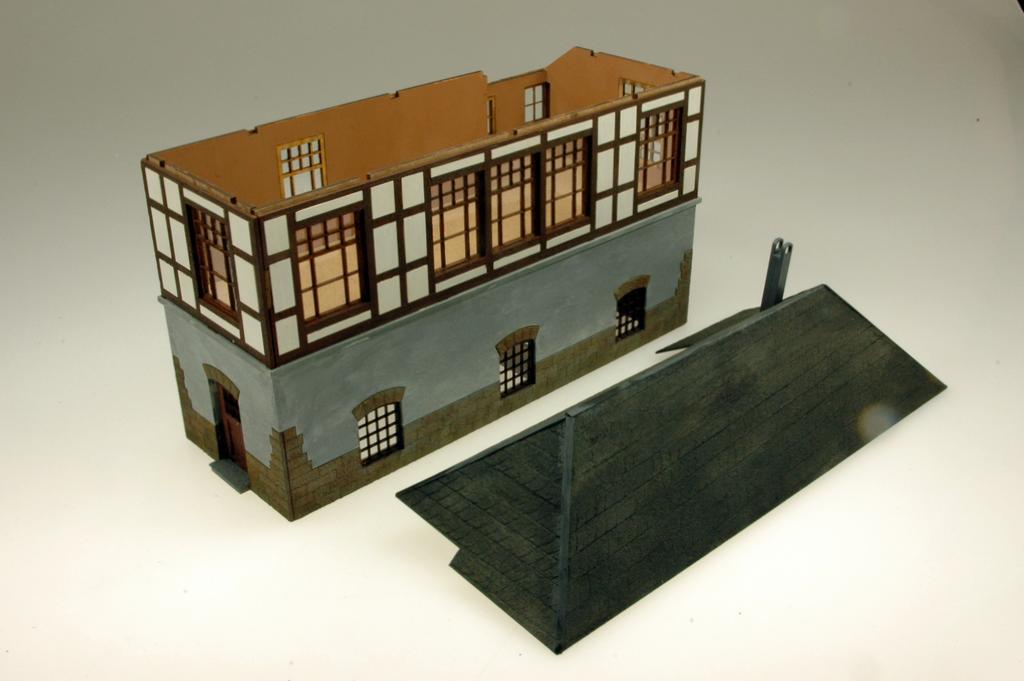 Stellwerk Herdecke: Abnehmbares Dach