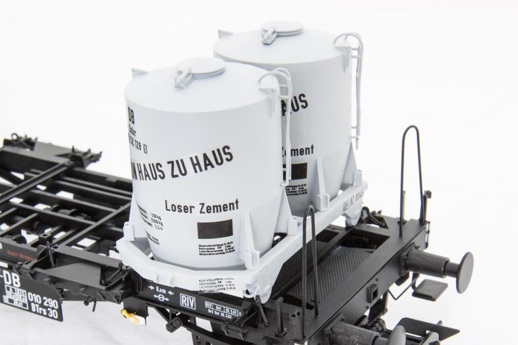 pa Behälter für losen Zement