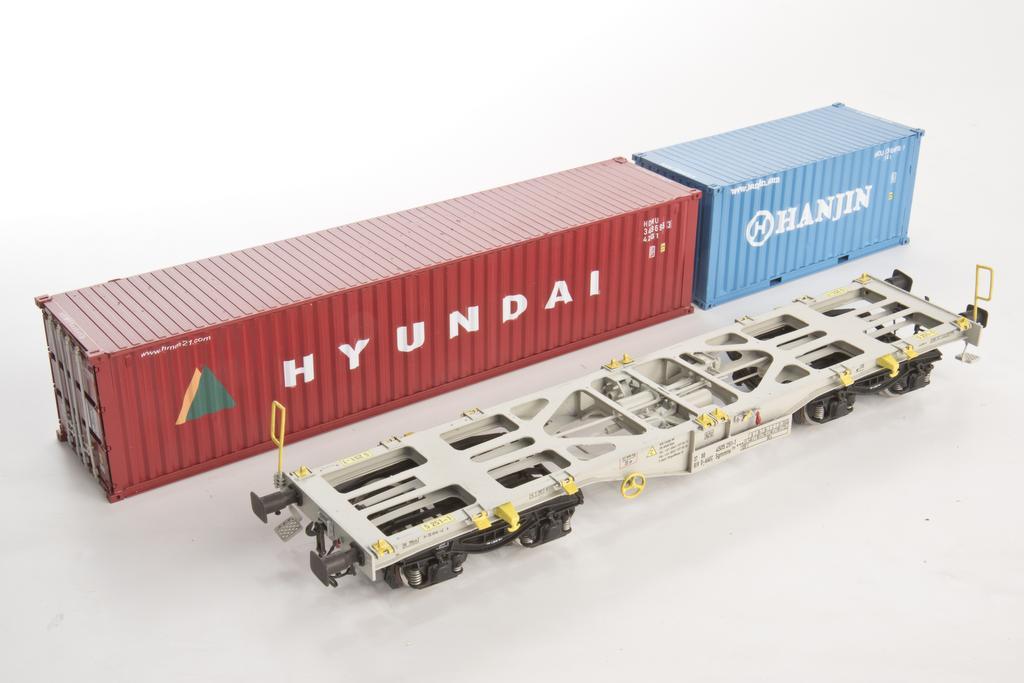 Adger Modellteknikk Containertragwagen