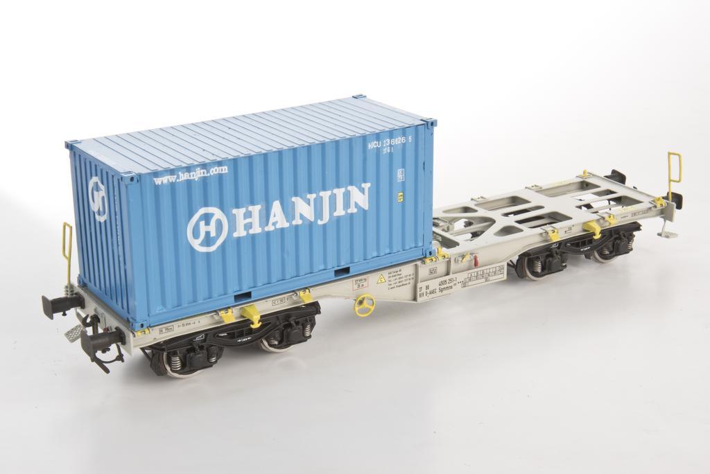 Adger Containertragwagen mit Hanjin Container