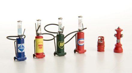 Zweitaktmischer, Gasflasche, Hydrant