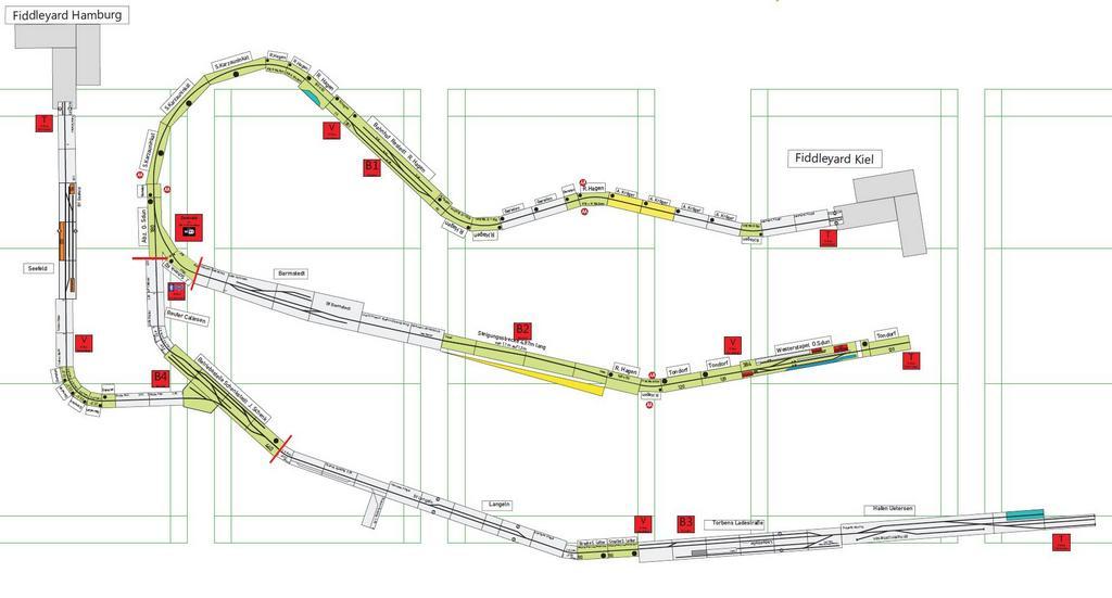 Gleisplan Fahrtreffen Kisdorf Mai 2017