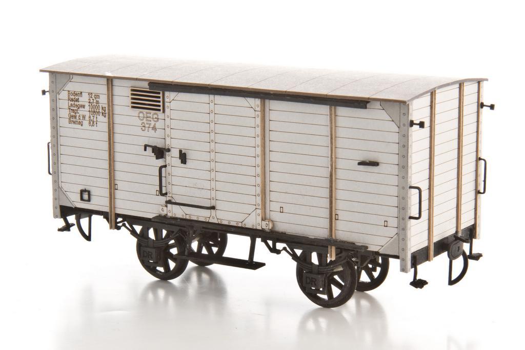 0 Scale Güterwagen Bausatz