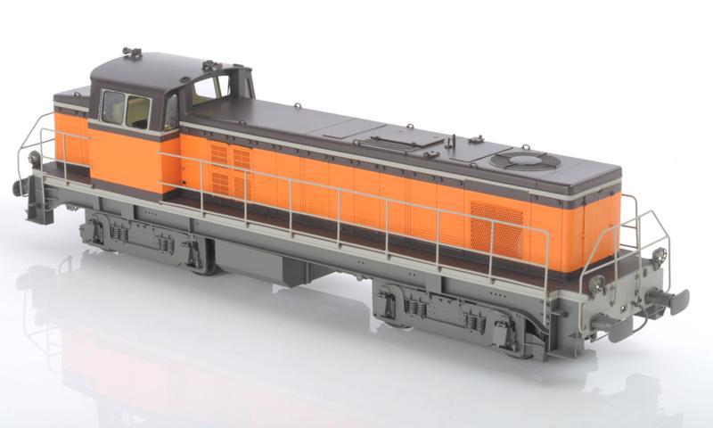 Modelbex Diesellok BB-63500. Foto: Hersteller
