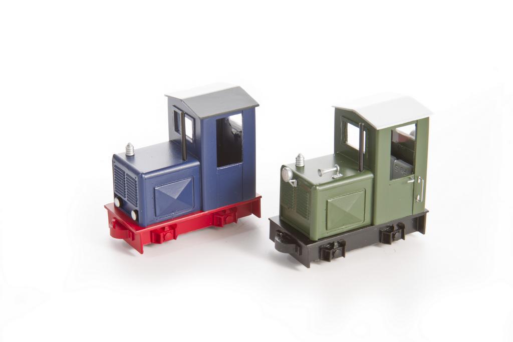 Schmalspurfahrzeuge der Modellbauwerkstatt Halle