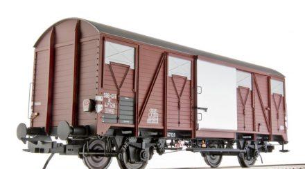 Schweizer Güterwagen K4 mit Zugschlusslaternen