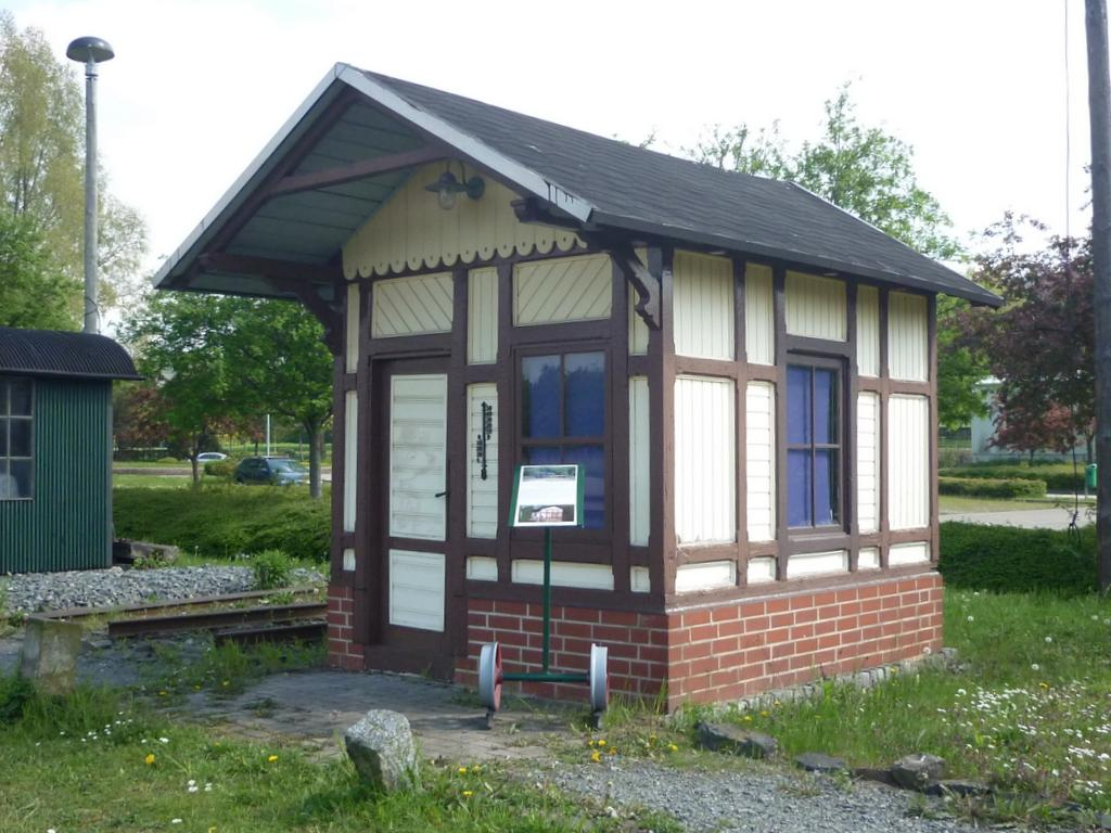 Bahnmeisterbude Gernrode Vorbild