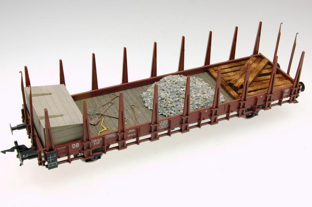 R20 mit Baustellenladung