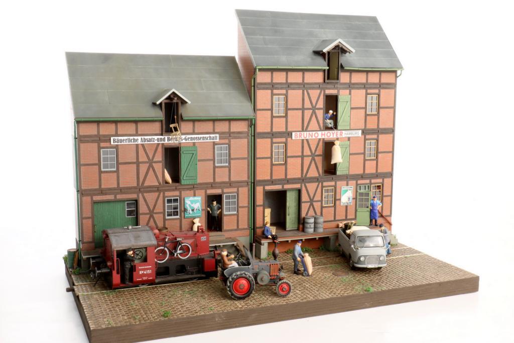 Real Modell Speicherhaus
