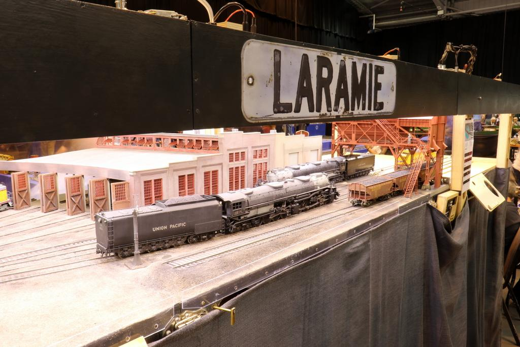 Laramie Engine Terminal mit Kohlenbunker