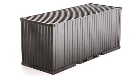 Spur Null Container aus Kunststoff unbedruckt